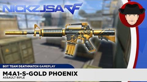 M4A1-S-Gold Phoenix CROSSFIRE China 2