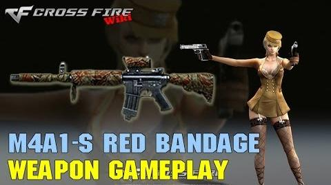 CrossFire - M4A1-S Red Bandage - Weapon Gameplay
