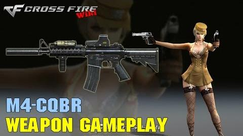 CrossFire - M4CQBR - Weapon Gameplay