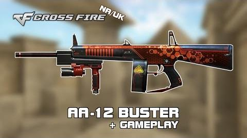 CF NA UK AA12 Buster review gameplay by svanced