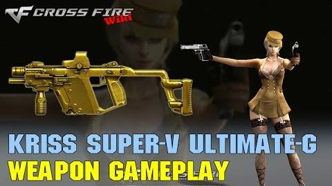 CrossFire - Kriss Super-V Ultimate Gold - Weapon Gameplay