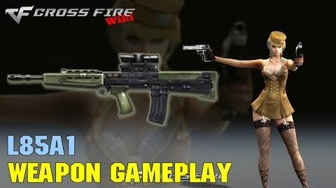 CrossFire - L85A1 - Weapon Gameplay