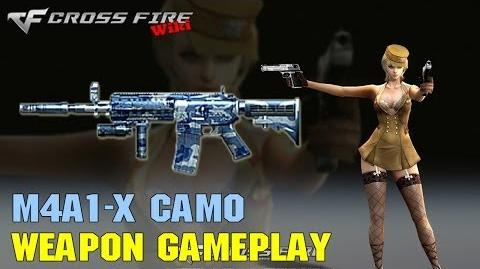 CrossFire - M4A1-X Camo - Weapon Gameplay