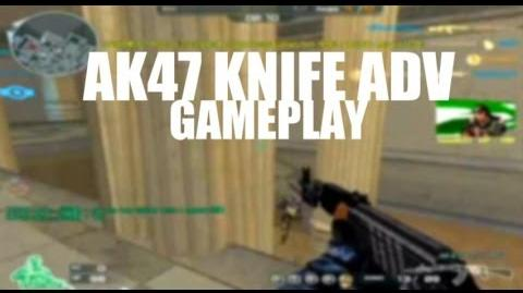 CrossFire AK47 Knife Adv Gameplay ll 10DarkGamer