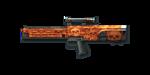Rifle G11-OrangeSkull