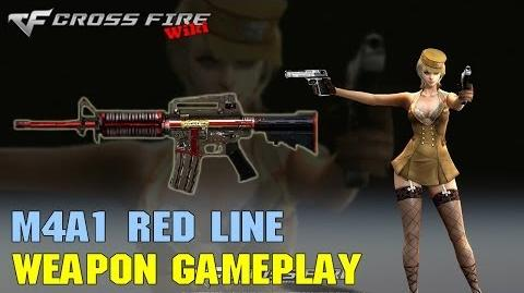 CrossFire - M4A1 Red Line - Weapon Gameplay