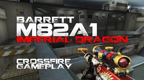 CrossFire Barrett M82A1 Imperial Dragon Gameplay ll 10DarkGamer