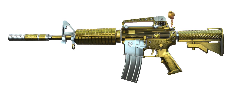 Wikia Crossfirelegends: M4A1-S Jewelry Noble Gold