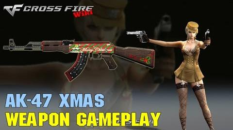 CrossFire - AK-47 Xmas - Weapon Gameplay