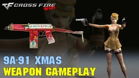 CrossFire - 9A-91 Xmas - Weapon Gameplay