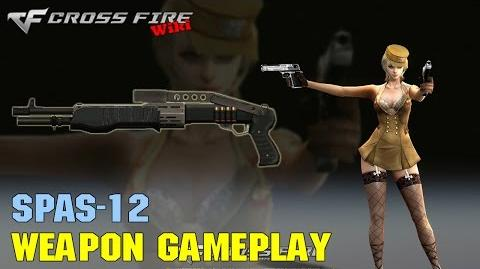 CrossFire - SPAS-12 - Weapon Gameplay