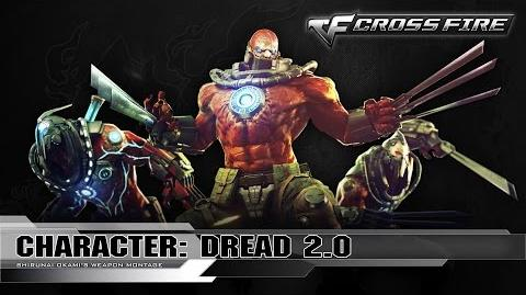 CrossFire Mutants Characters - Dread 2