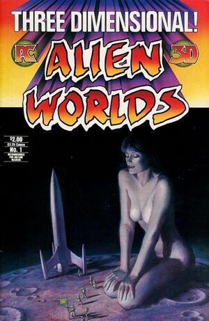 Alien Worlds 3-D Vol 1 1