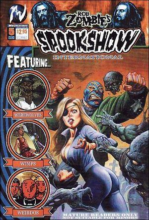 Rob Zombie's Spookshow International Vol 1 5