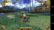 Blue Lizard Battle