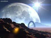 Planet Saiya desert