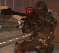 Insurrectionist Sniper soldier