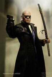 Morpheus gun sword