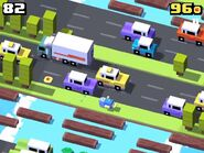 Crossy-road-floppy-fish game play