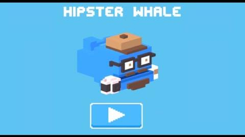 Hipster Whale (Mascot)