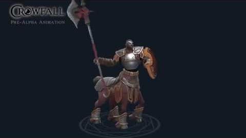 Crowfall - Centaur Animation Preview