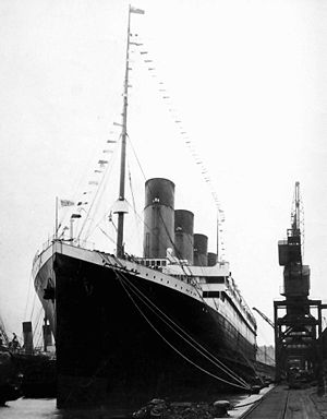 File:Titanic docked.jpg