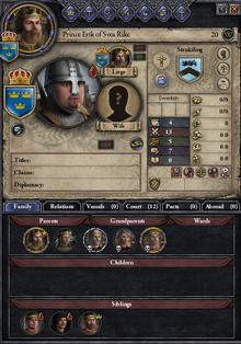 Prince erik of svea rike
