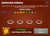 Automated Alchemy