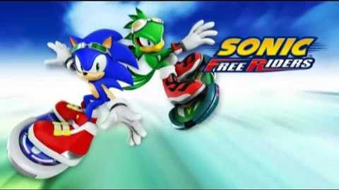 Free - Main Theme of Sonic Free Riders (Crush 40 Version)