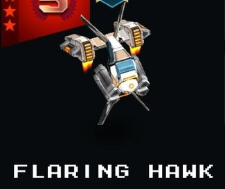 Flaring Hawk