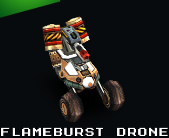 Flameburst Drone