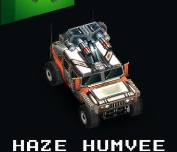 Haze Humvee