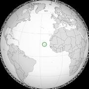 Cape Verde Map