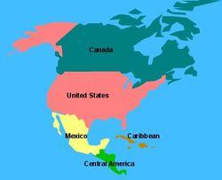 Northamerica map