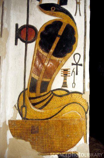 E9050408-egyptian goddess wadjet-spl
