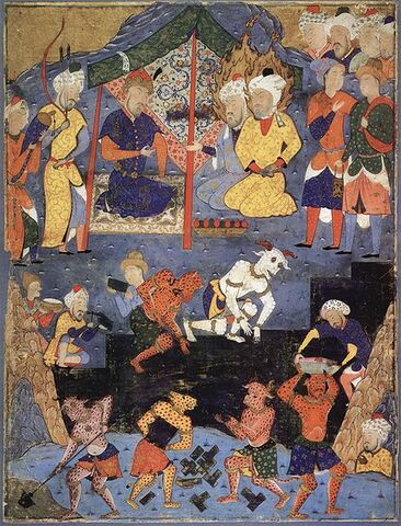File:Dhul-qarnayn-with-the-help-of-jinn-building-the-iron-wall-to-keep-the-barbarian-gog-and-magog-from-civilised-peoples-16th-century-persian-miniature.jpg