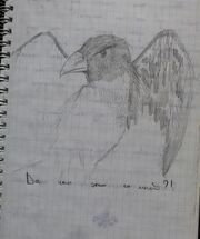 The Great Raven Drawing 2