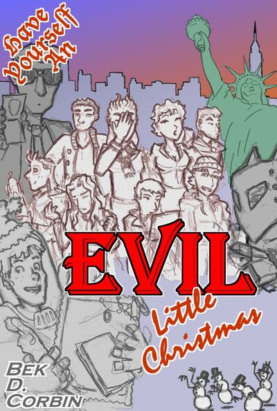 Whateley evil little christmas poster by Elaborate