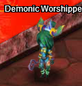Demonic worshipper