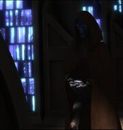 CB posing as Jedi