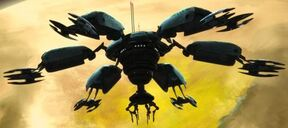 Vulture droid deployment pod