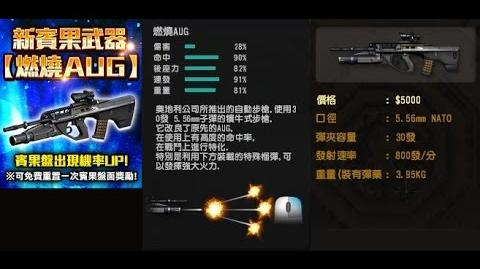 CSO 燃燒AUG(Burning AUG)-測試與實戰轟炸!