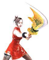 Mei wgreen dragon blade