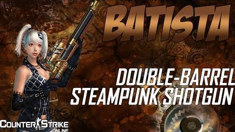 CSO Batista Double Barrel Shotgun (Steampunk)