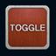 Toggle gate