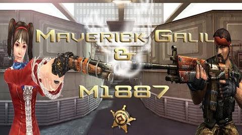 Counter-Strike Online - Maverick Galil & M1887
