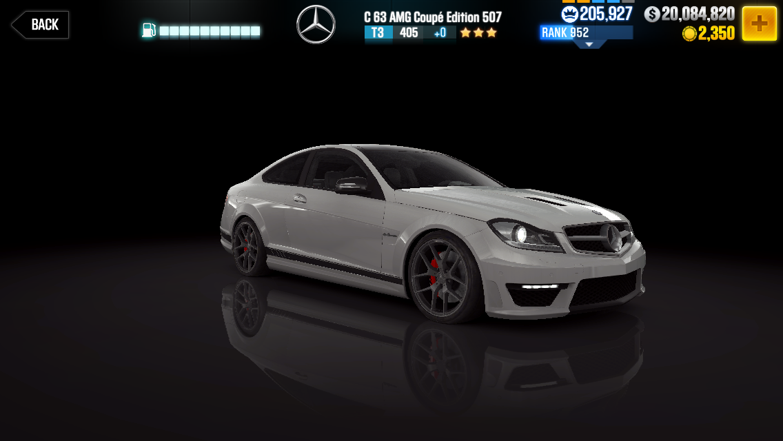 mercedes benz c63 amg coup edition 507 csr racing wiki fandom powered by wikia. Black Bedroom Furniture Sets. Home Design Ideas
