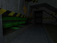 Cs bunker0011 biohazard containment area