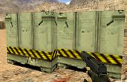 De dust bomb site B chemical weapon boxes