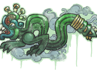 Fireserpent large